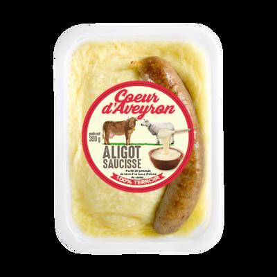 Aligot saucisse COEUR D'AVEYRON, 350g