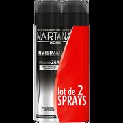 Narta Déodorant Homme Invisimax Narta, 2x200ml