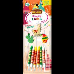 Bougies d'anniversaire lama VAHINE