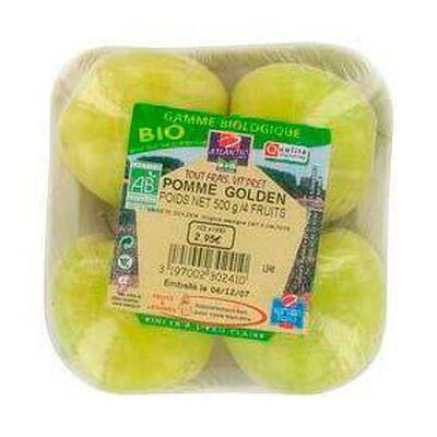 Pommes golden bio, 4 fruits