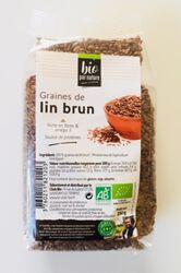 Graines de lin brun BIO, CLUB BIO, sachet de 250g