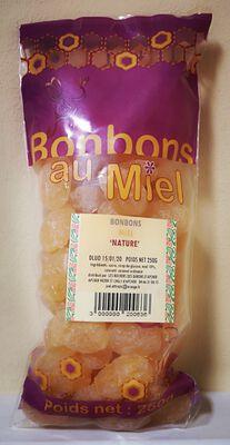 Bonbons au miel, Les Ruchers des barons d'Apcher, 250g