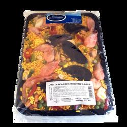 Paella de la mer traiteur de cornouaille, barquette de 1,5kg