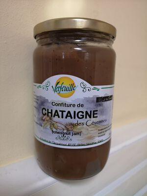 CONFITURE DE CHATAIGNE 820 G