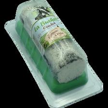 Bûchette fraîche cendrée lait chèvre pasteurisé à pate molle, 22% de MG, JAC QUIN, 150g