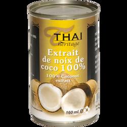 Extrait de noix de coco THAI HERITAGE, 160ml