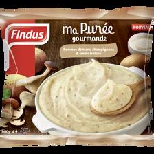 Purée pommes de terre champignons FINDUS, 600g