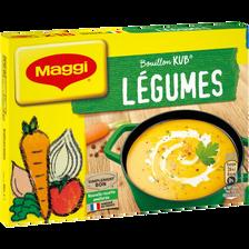 Maggi Bouillon De Légumes Kub Or, , 18 Tablettes, 180g