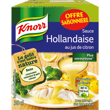 Knorr Sauce Hollandaise , Brique De 30cl