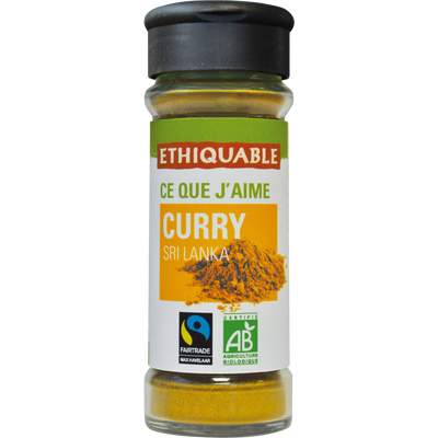 Curry Sri Lanka bio ETHIQUABLE, 40g