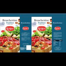 Bruschettine tradition ROGER, paquet de 150g