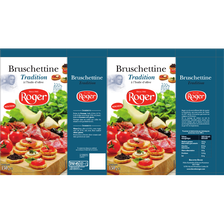 Roger Bruschettine Tradition , Paquet De 150g