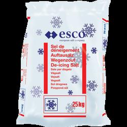 Sel de déneigement ESKO, sac 25kg