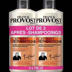 Après-shampoing expert réparateur FRANCK PROVOST, 2 flacons de 750ml
