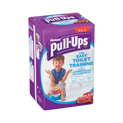 Couches culottes pour garçons Pull Ups HUGGIES, taille 6, x12