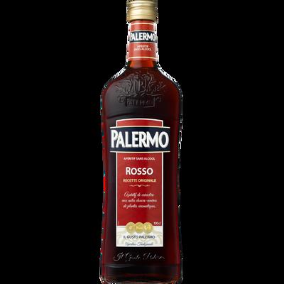 Cocktail sans alcool rouge PALERMO, bouteille de 1l