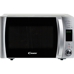 MICRO ONDES GRILL CANDY CMXG22DS 22L 800W SILVER-GRIL 1000W- PROGRAMMATEUR DIGITAL-10 MENUS AUTOMATIQUES-FONCTION SILENCEMODE ECO-APPLICATION COOK-IN
