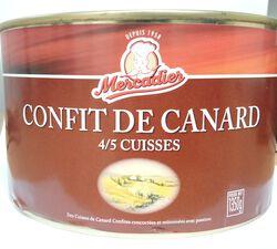 Confit de canard Mercadier 4/5 cuisses
