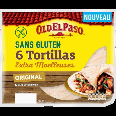 Tortillas sans gluten OLD EL PASO, 216g