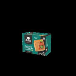 Bouchées carrées beurre LES 3 TOQUES étui x4 100g