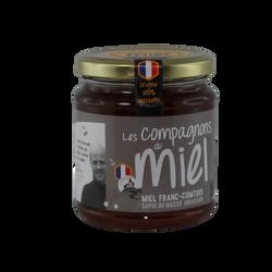 Miel de Sapin du massif Jurassien de Franche-Comté COMPAGNONS DU MIEL, 375g