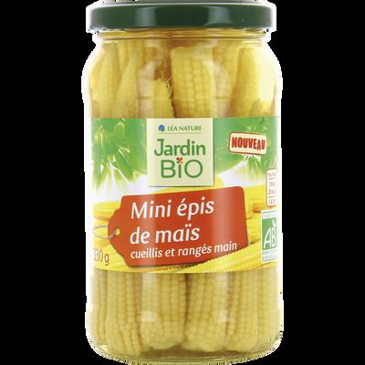 Mini épis de maïs bio JARDIN BIO 330g