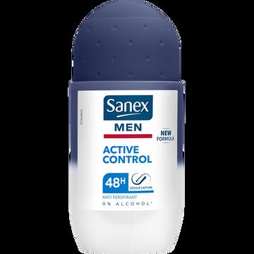 Sanex Déodorant Homme Active Control 48h Sanex, Bille 50ml