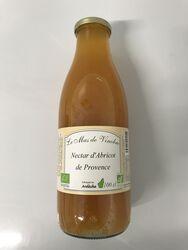 Nectar d'abricots de provence bio 1L Mas de Vinobre
