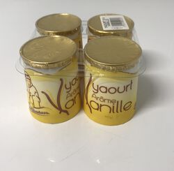 Yaourt arôme vanille,  Areilladou 4X125G