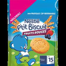 P'tit biscuit pour bébé aux fruits rouges NESTLE, dès 15 mois, 150g