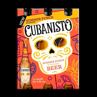 Bière CUBANISTO Summer Punch, 5,90°, 3x33cl