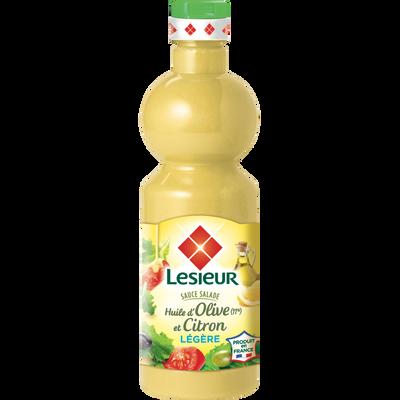 Vinaigrette à l'huile d'olive et au citron LESIEUR, 500ml