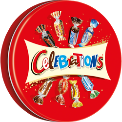Chocolats assortis CELEBRATIONS, boîte métal de 435g