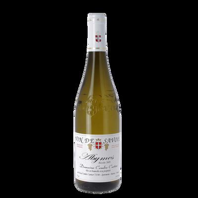 Vin blanc de Savoie Abymes Récoltant AOP, bouteille de 75cl