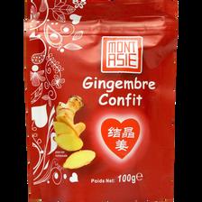 Mont Asie Gingembre Confit, , Sachet De 100g
