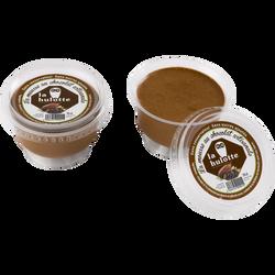 Mousse au chocolat artisanale sans conservateur et sans sucre ajouté LA HULOTTE, coupelle de 15cl