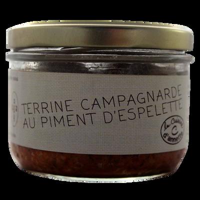Terrine campargnarde piment Espelette CUISINE ANNETTE, 180g