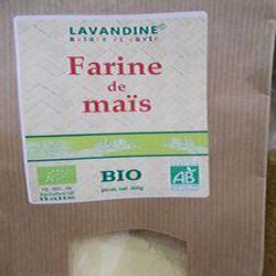 farine de maïs bio 400g