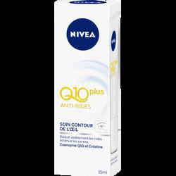 Soin anti rides contour des yeux Q10+ NIVEA VISAGE, 15ml