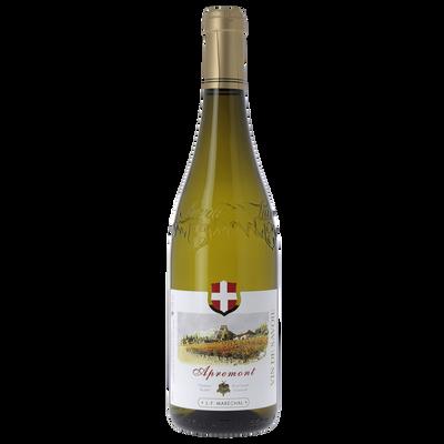 Vin blanc de Savoie Apremont Maréchal, bouteille de 75cl