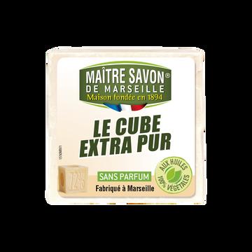 Maître Savon de Marseille Savon De Marseille Traditionnel Pur Blanc Maître Savon De Marseille, 300g