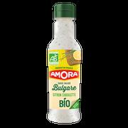 Amora Sauce Crudité À La Bulgare Citron Ciboulette Bio Amora, 210ml