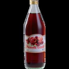 Jus de pomme et cerise COVIFRUIT, bouteille de 1l