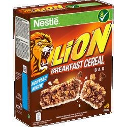 Barres de céréales LION, 6x25g