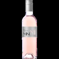 Vin rosé Var IGP rosé mini mi, bouteille de 75cl