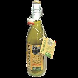 "Huile d'olive vierge extra ""paesano"" 100% italienne FLORELLI,  bouteille de 75cl"