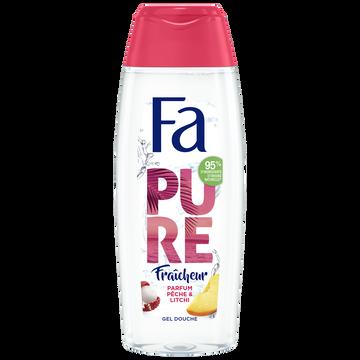 Fa Douche Pure Fraîcheur Pêche & Litchi Fa 250ml