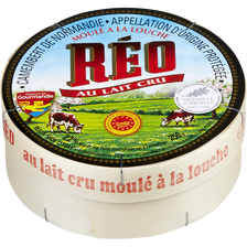Réo Camembert Aop Au Lait Cru , 22% De Mg, 250g