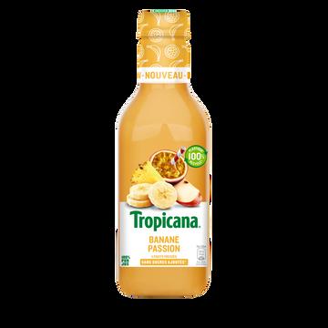 Tropicana Jus De Fruits Banane Passion Tropicana Pet 90cl