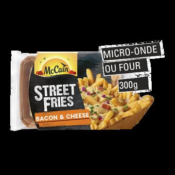 Mc Cain Street Fries Bacon & Cheese Mc Cain, 300g